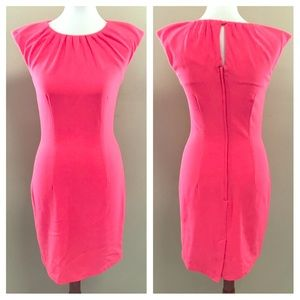 🌿H&M Cute Coral Fitted Dress